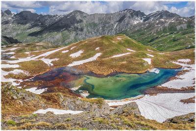 Lago inferiore della Fioniere